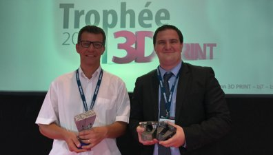 L'équipe Fabrication additive d'IPC remporte le Trophée 3D PRINT!